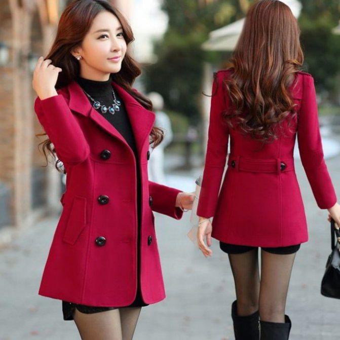Модные женские короткие пальто осень-зима 2019-2020