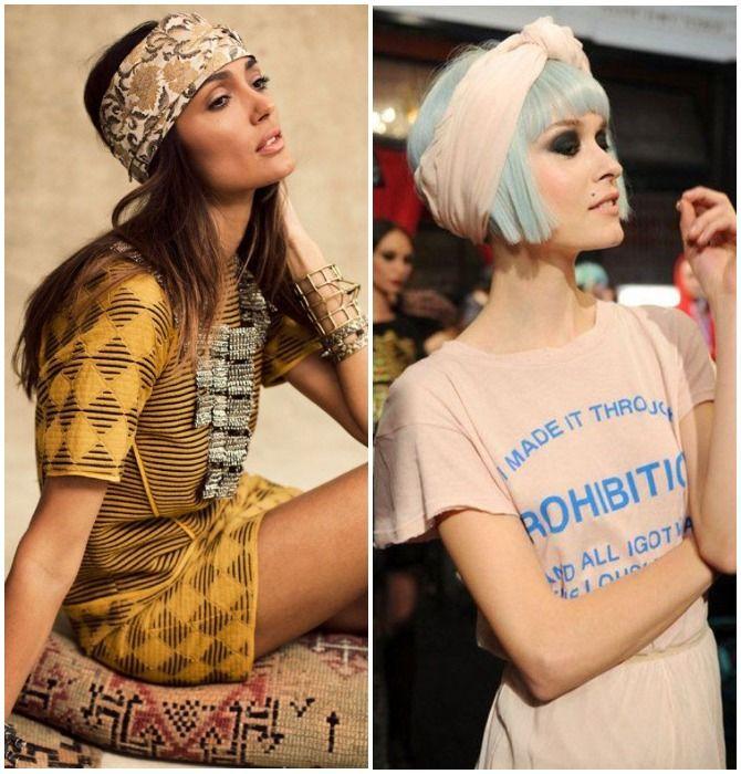 Модный тренд лета 2020: завязываем платок на голове 6