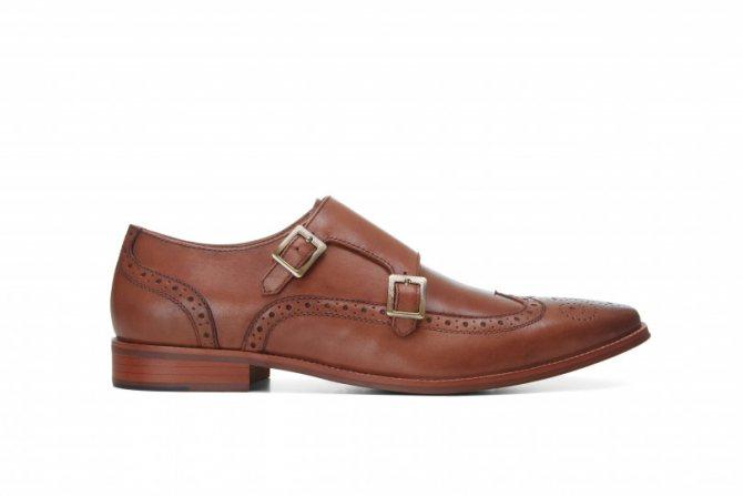 Мужские коричневые туфли Dune, цена со скидкой - 2060 грн. Стоимость до распродажи - 5150 грн.