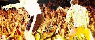 На концерте. Огонь! ФОТО: shnurovs