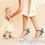 одинаковые платья для мамы и дочки фото