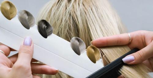 окрасить волосы дома