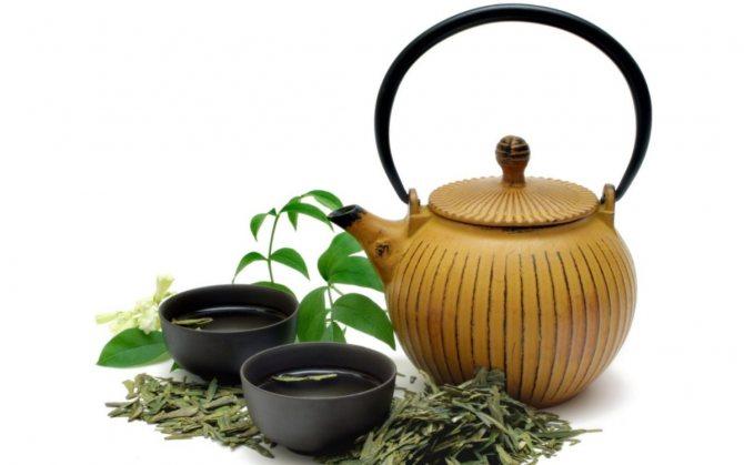Пиалки с чаем
