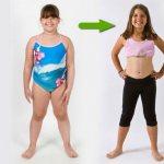 Похудевший ребенок