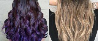 покраска волос модные тенденции 2020