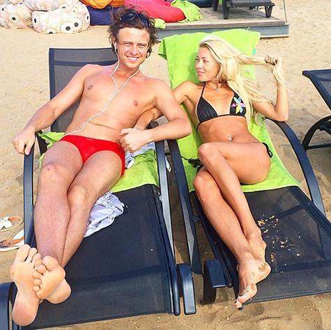 Прохор Шаляпин в плавках. Фото: Instagram.com.