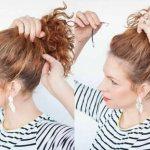 Пучки для вьющихся волос