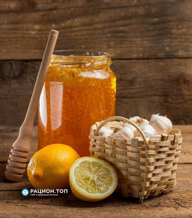Рацион.ТОП - Лимонный сок с чесноком