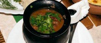 Рецепт лобио из красной фасоли классический