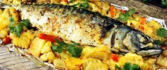 Рецепт приготовления горбуши в фольге в духовке майонезе рыбка не