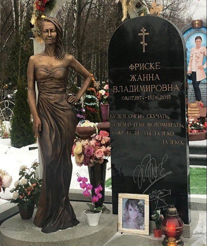 Рисунок 3. Памятник певице, полностью соответствующий росту при жизни