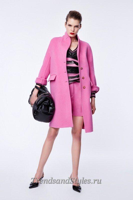 розовое пальто 2020