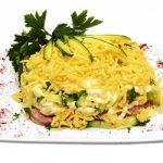 Салат с ветчиной, огурцами и сыром – лёгкий и сытный. Варианты приготовления салата из ветчины, огурцов и сыра
