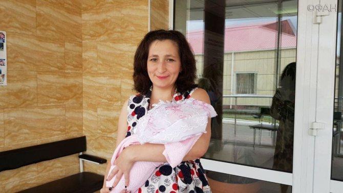 Счастливая мама Ирина Ушанова