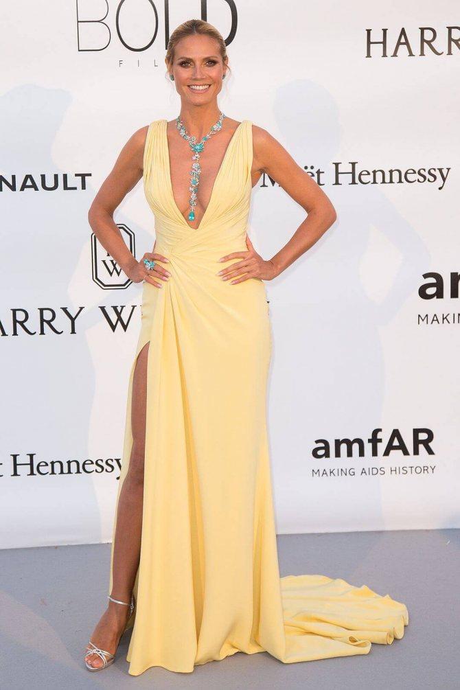 Секреты стиля 44-летней Хайди Клум 6