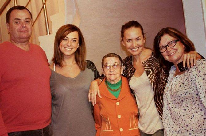 Семья и дети Жанны Фриске фото