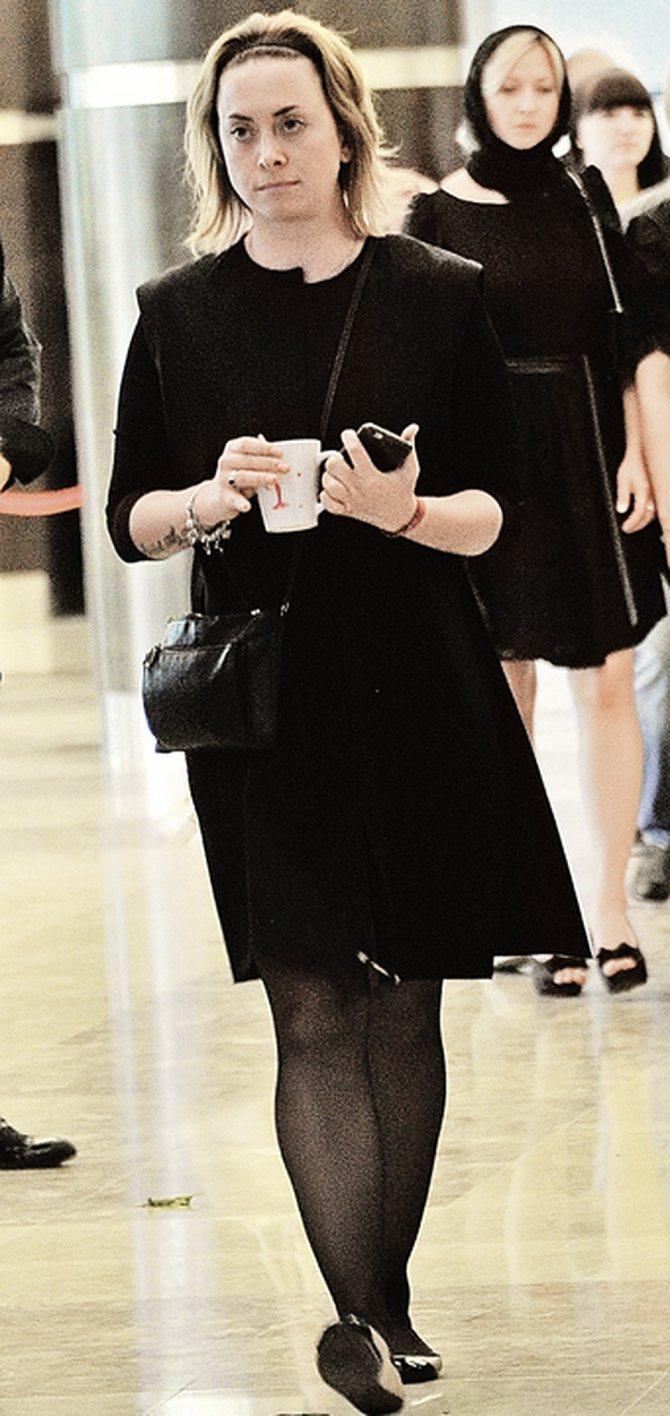 Сестра певицы Наталья Фриске. Фото: Евгения ГУСЕВА