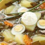 Щи из щавеля с яйцом – 6 рецептов