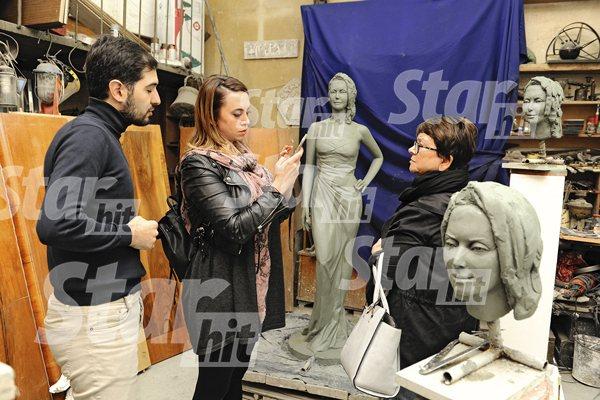 Скульпторы создали памятник Жанне Фриске. ПЕРВЫЕ ФОТО