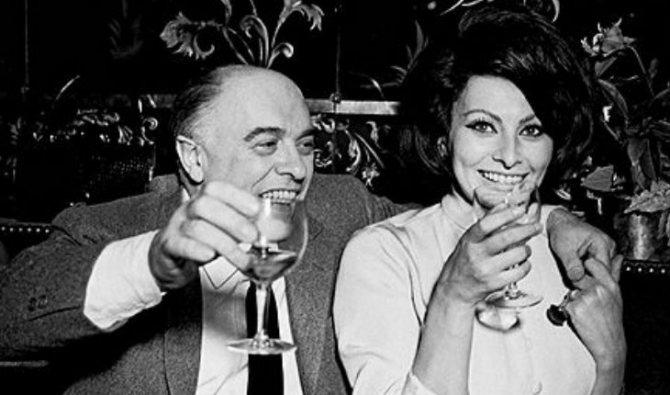 Софи Лорен и ее муж