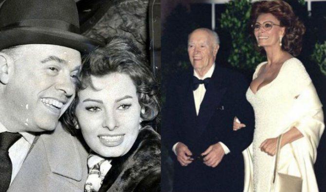 Софи Лорен и Карло Понти были вместе до самой смерти Карло