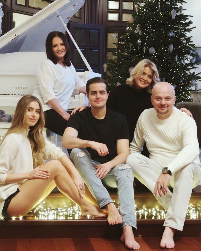 София Евдокименко с родителями, братом и бабушкой 3