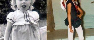 София Вергара в детстве