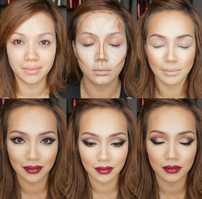 Современный правильный макияж