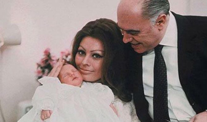 Старшего сына Софи Лорен зовут Карло – в честь его отца