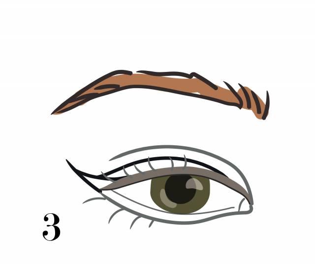 стрелка cat eye