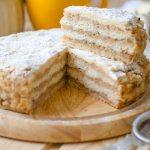 Сухой пирог с яблоками и манкой – 9 рецептов насыпного яблочного пирога