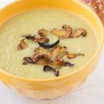 Суп из вешенок с плавленым сыром, рецепт с фото
