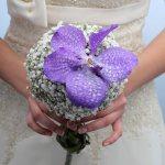 Свадебные букеты фото сиреневый