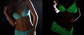 Светящееся в темноте белье от итальянского бренда Cosabella