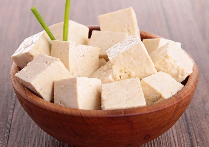сыр тофу фото