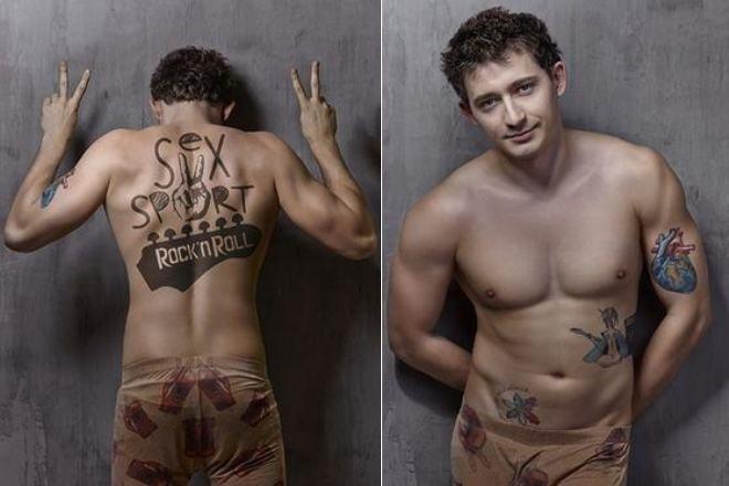 Татуировки Коли Серги