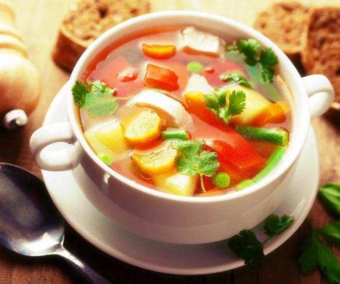 Топ-5 супов для похудения