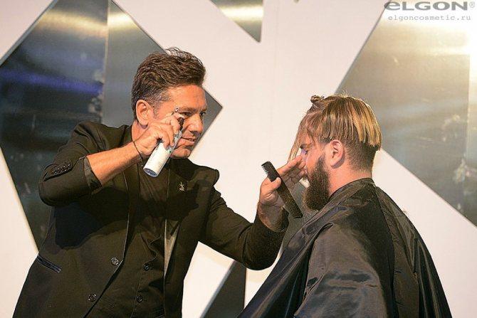 тренер парикмахер конкурс элгон