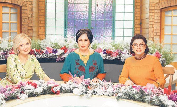 Василиса Володина, Лариса Гузеева и Роза Сябитова уже десять лет являются коллегами по программе «Давай поженимся!»