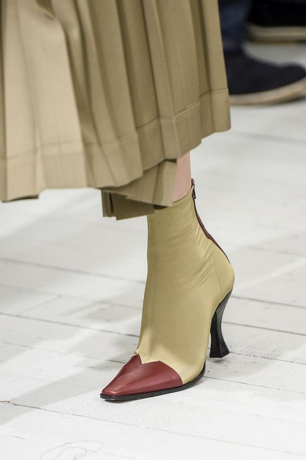 весенняя обувь 2020 острый каблук