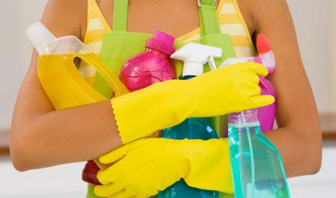Весенняя уборка квартиры и дома