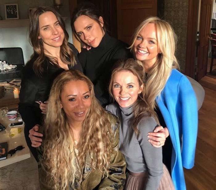Виктория Бекхэм в группе Spice Girls