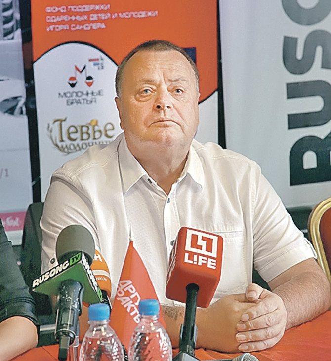 Владимир Фриске. Фото: Борис КУДРЯВОВ