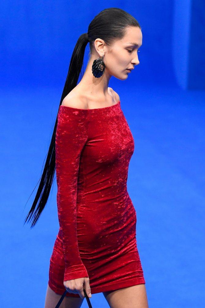 Волосы Беллы Хадид