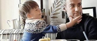 Воспитывать Платона Дмитрию помогают няня и новая избранница Екатерина Тулупова. Фото: кадр видео.