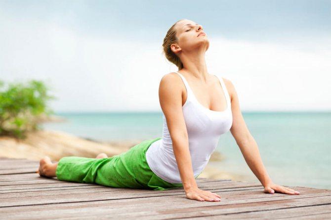 Выполнение физических упражнений при борьбе с целлюлитом