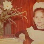 Юлия Снигирь в детстве 2