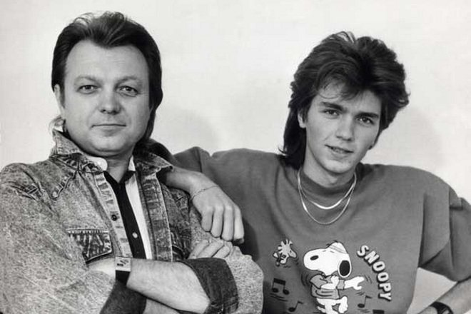 Юрий Маликов и Дмитрий Маликов в молодости