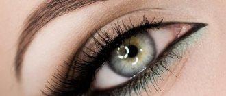 Зеленые глаза и корчиневые тени