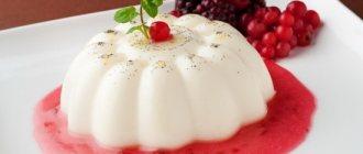 Желе из сметаны – балуемся полезными сладостями! Рецепты сметанных желе с ванилином, какао, фруктами, творогом, шоколадом